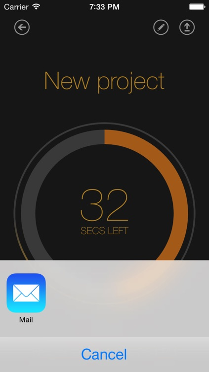 Time Left  - Quickly create one-time reminders on your iPhone, iPad or iPod Touch. HD screenshot-4