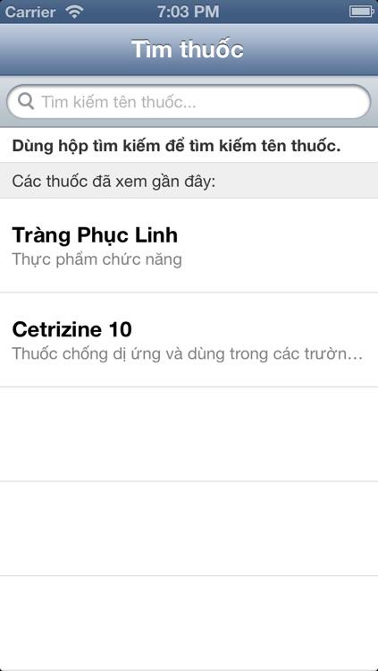 iThuốc 2.0: danh bạ thuốc - Thuoc Vietnam (iThuoc - Danh ba, list duoc pham, biet duoc, tu dien y hoc Viet Nam - y khoa VN, bac si gia dinh) screenshot-3