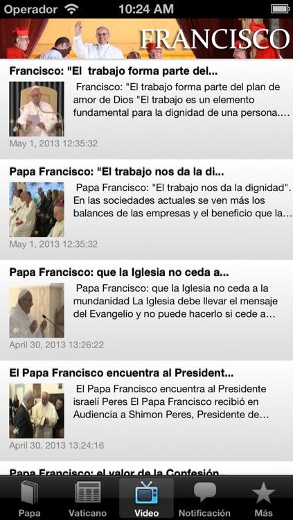 Mensajes de Francisco - Catolicapp.org screenshot-3