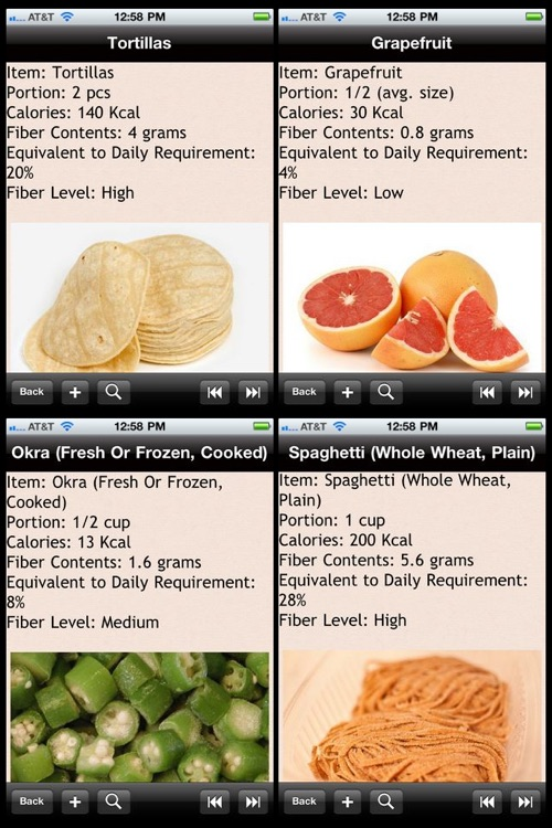High Fiber Food List screenshot-1