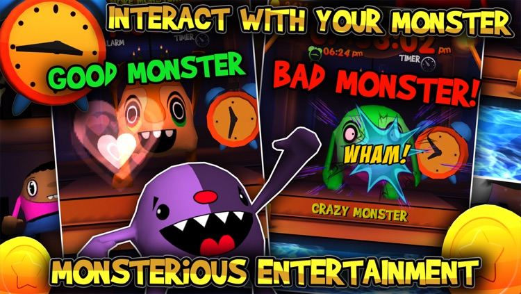 Crazy Monster Clock screenshot-3