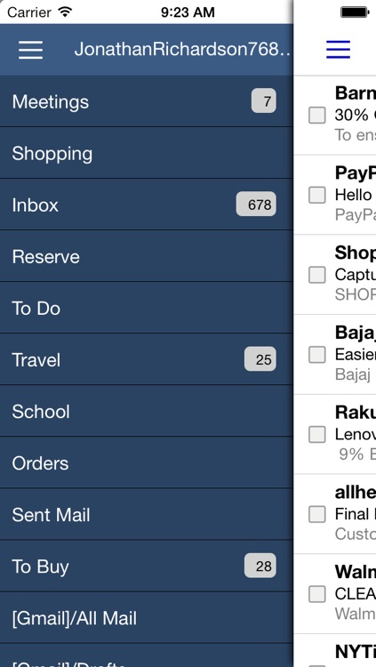 Mailpod for Yahoo Mail, Gmail, Hotmail screenshot-3