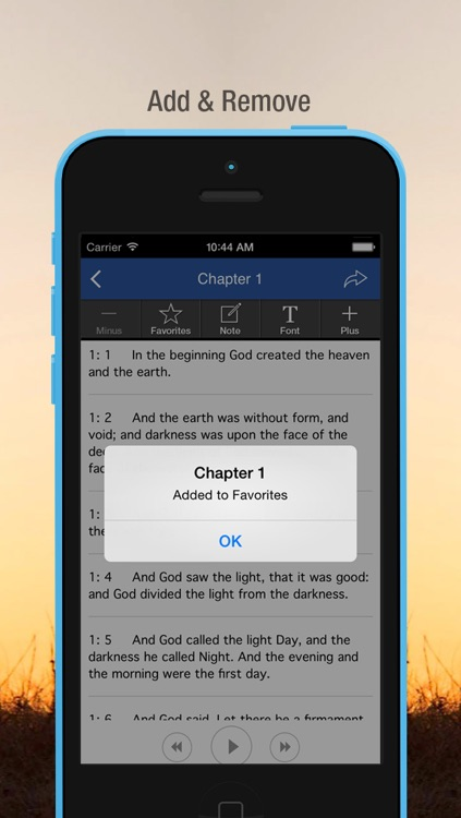 The Holy Bible Audio (King James Version) screenshot-4