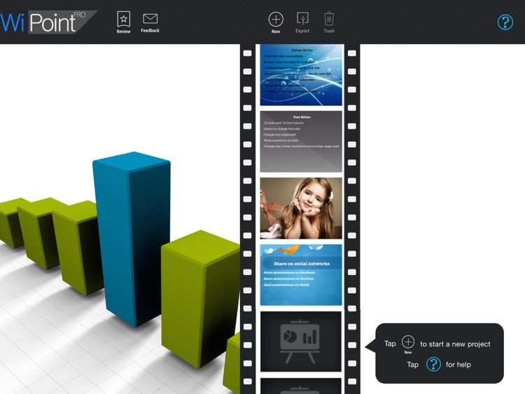 WiPoint HD Pro - Make HD video presentation & photo slideshow screenshot-3