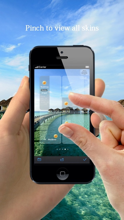 Weathergram -Record Real-time Weather in Your Photo screenshot-3