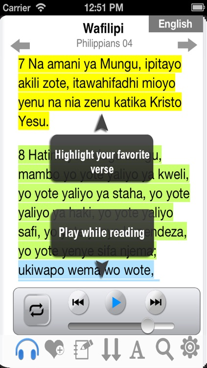 Swahili  Bible Audio screenshot-3