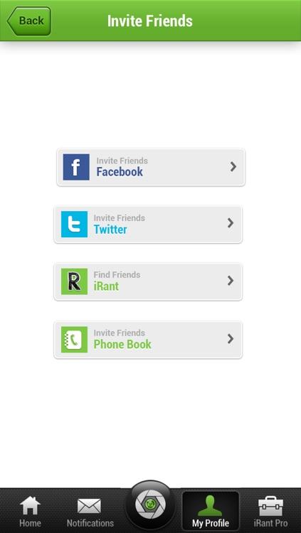 iRant Video Texting screenshot-3