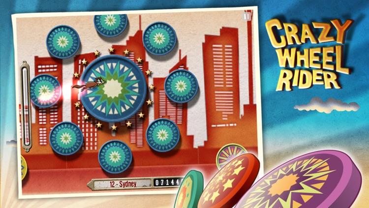 Crazy Wheel Rider HD screenshot-4