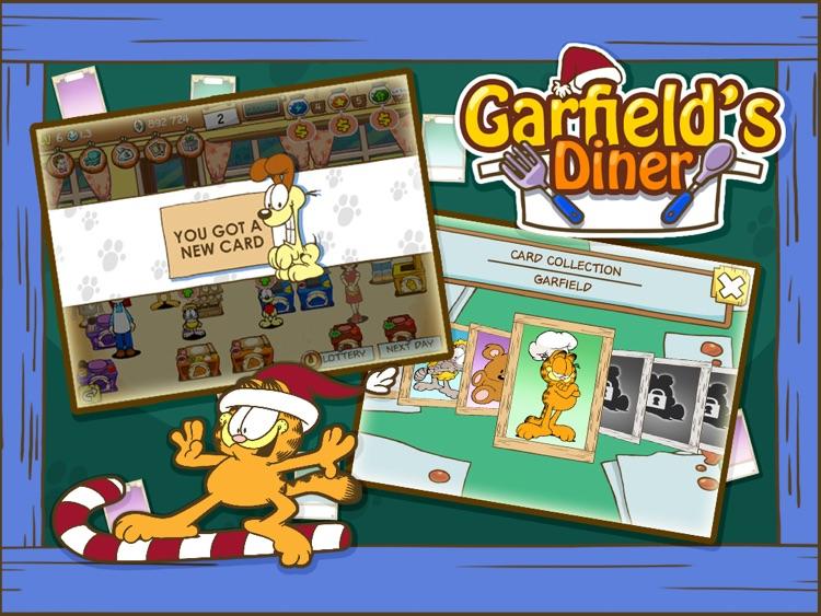 Garfield's Diner HD screenshot-3