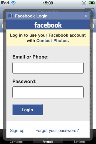download Contact Photos for Facebook apps 1