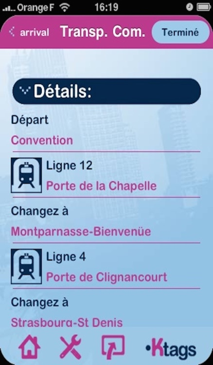 Kapten GPS multitransport France screenshot-3