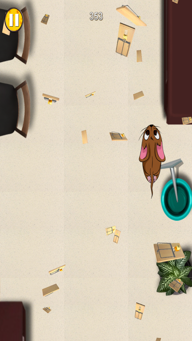 Mouse Chase - Top Best Free Endless Cat Race Escape Game screenshot three