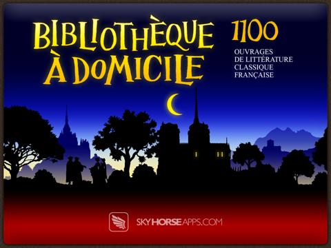 Bibliothèque à Domicile - La Littérature Française - 1100 Livres - French Home Library - 1100 Booksのおすすめ画像1