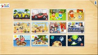 Spiele für Kleinkinder - Holz Puzzle für Jungen (6 Teile) 2+Screenshot von 3