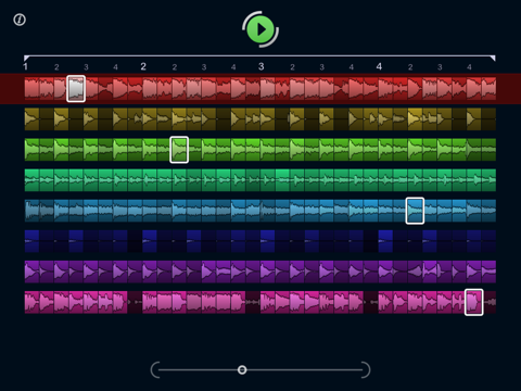 LoopMash HD screenshot one