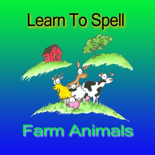 Learn To Spell - Farm Animals icon