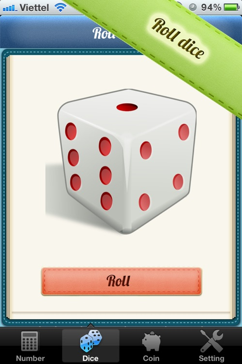 iRandomized® - Random Number, Roll dice, Flip Coin...