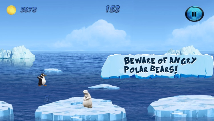 Mad Penguin Run Multiplayer Lite - Survive the Cold screenshot-3