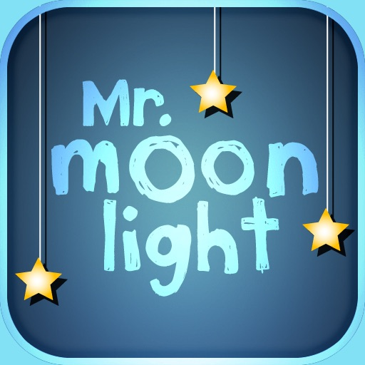 Mr. MoonLight : Kids Visual Alarm Clock and Nightlight for Sleep Training