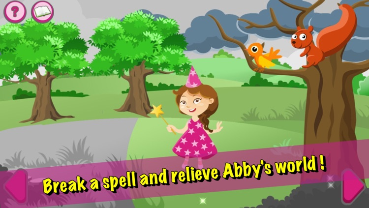 Abby the Good Witch and the evil wizard