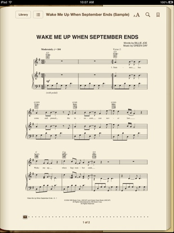 Wake Me Up When September Ends By Green Day On Apple Books