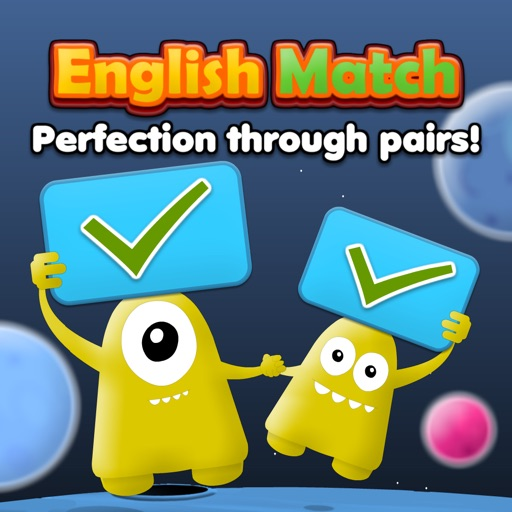 English Match: Letters, Numbers & Words HD