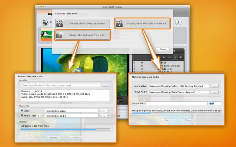 Smart DVD Creator Screenshot