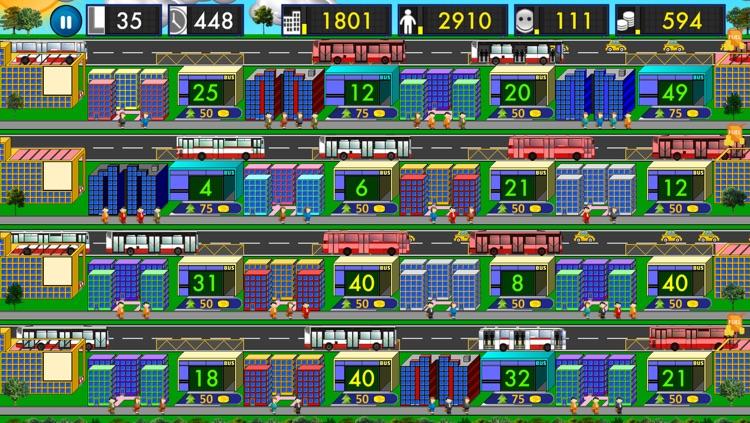 City Bus Tycoon Free - Public Transport Mania screenshot-4