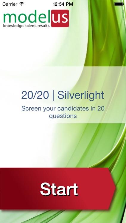 20/20 Silverlight