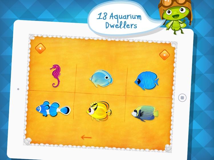 Aquarium Dots: Connect The Dot Puzzle App - by A+ Kids Apps & Educational Games screenshot-3