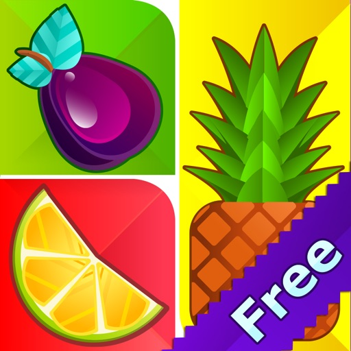Guess The Fruit 1 Pic 1 Word Logo Puzzle Game – Fun Icon Quiz Up For Kids FREE