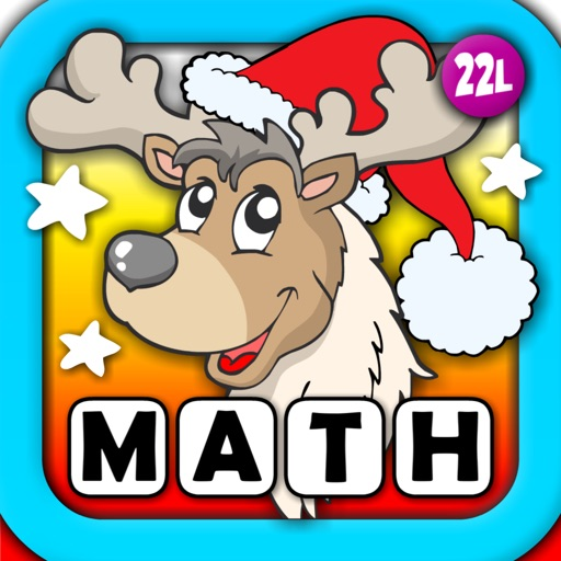 Abby Basic School Snowman Math: Challenge Educational Game for Kids by 22learn icon