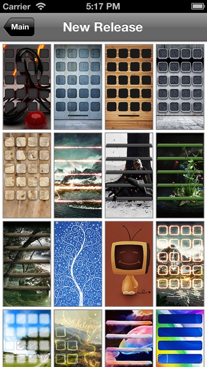 ScreenDIY - HD wallpapers & themes for iPhone including app shelves & icons and backgrounds screenshot-4