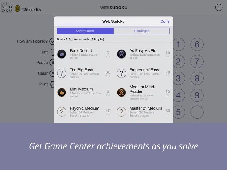 Web Sudoku screenshot-3