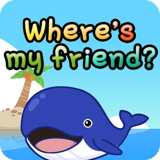 Where`s my friend?
