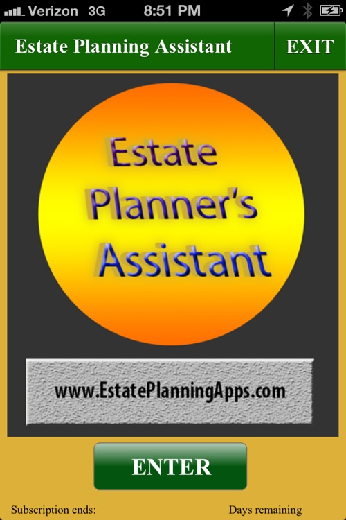 Estate Planners Assistant screenshot-0