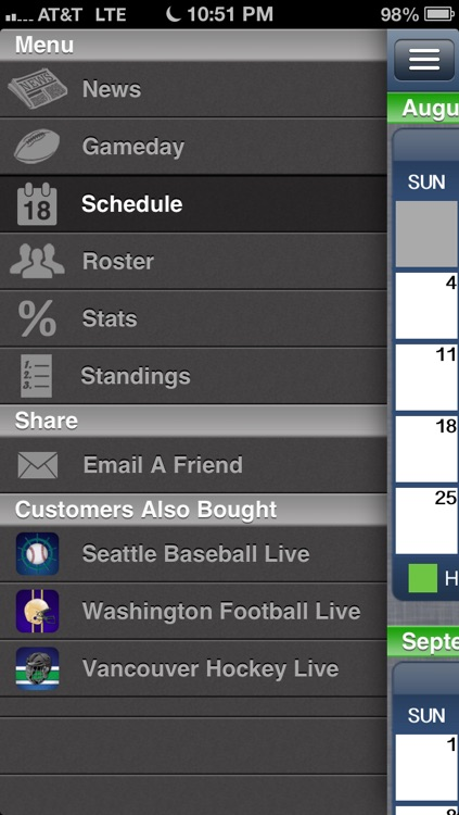 Seattle Football Live screenshot-3