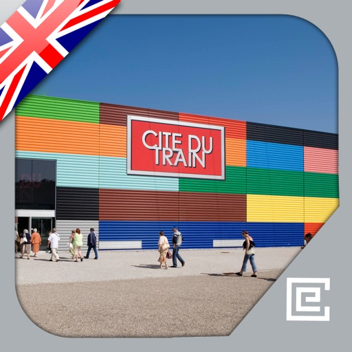 Cité du Train – French national Railway Museum: official application icon