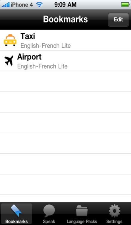 English to French Voice Talking Translator Phrasebook EchoMobi® Travel Speak LITE screenshot-3