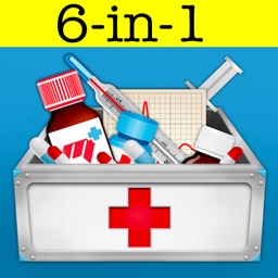 AppsMedical 6-in-1: drugs & medications,calculators,abbreviations,pregnancy wheel etc