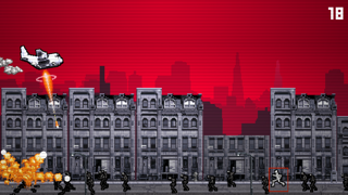 Screenshot from Zombie Gunship Arcade