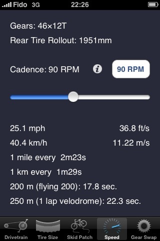 Bicycle Gear Calculator — Bike Gears screenshot-3