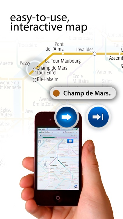 Metro Paris Maps