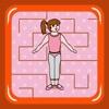 Ballerina Dancer Maze (find the shoes)