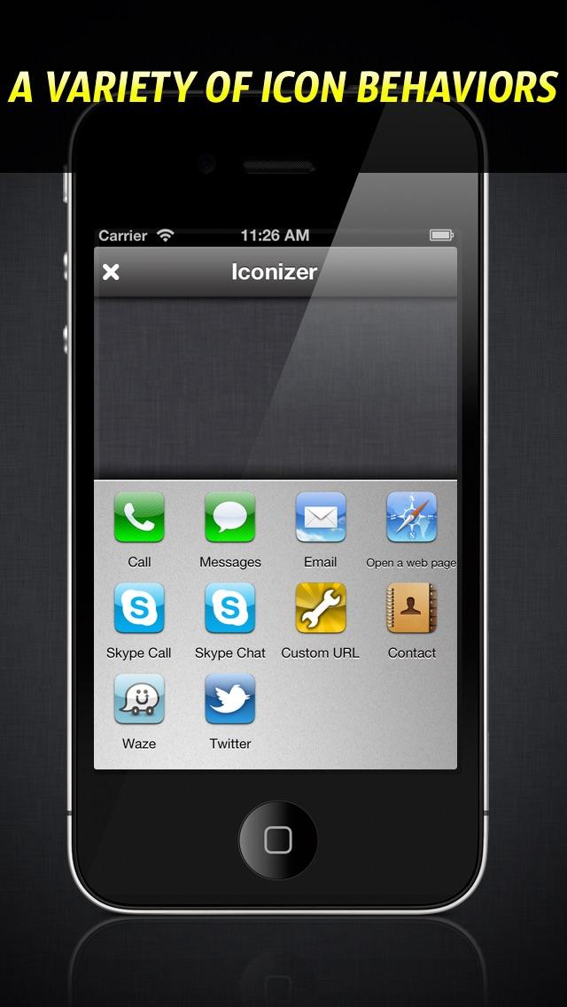 アイコンdeダイヤル - Iconizer screenshot1