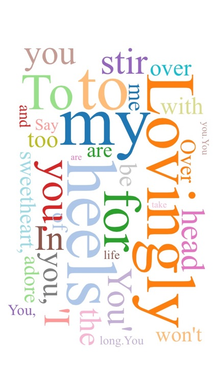 Word Cloud - Create Custom Text Collages screenshot-3