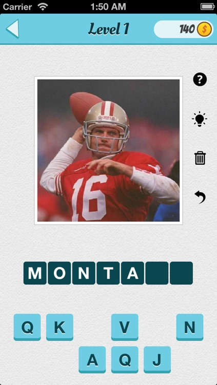Wubu Guess the Footballer - American Football - FREE Quiz Game screenshot-0