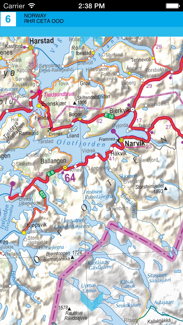 Norway road map app price drops road map screenshot 7 for norway publicscrutiny Choice Image