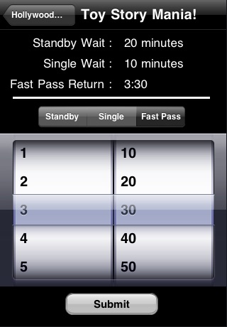 Disney Attraction Wait Times screenshot-3