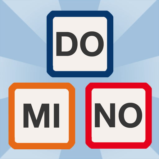 Word Domino - Letters game for kids and grownups